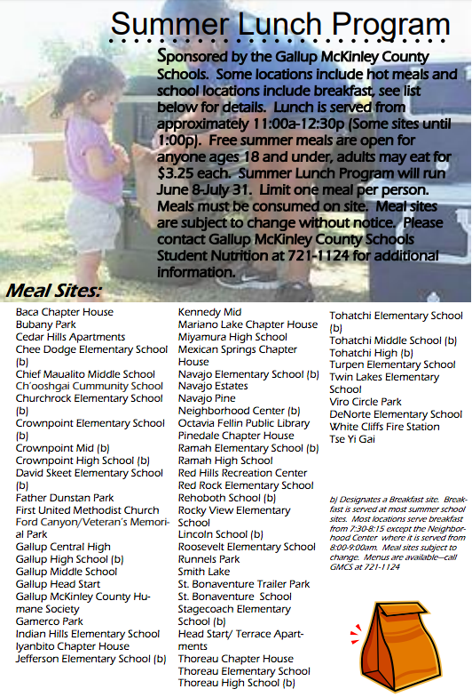 Fighting Hunger through OST | New Mexico Out of School Time